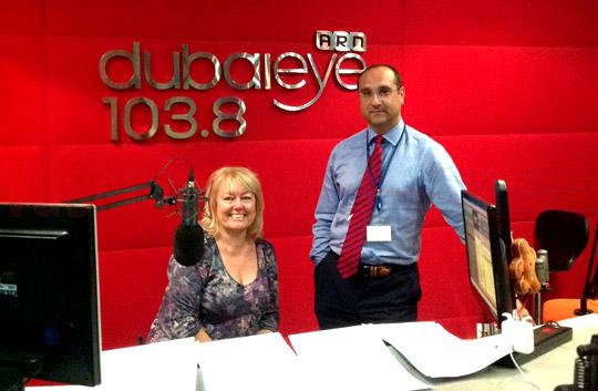 الدكتور آميت كومار يناقش مرض الفشل الكلوي وعلاجه على إذاعة DUBAIEYE