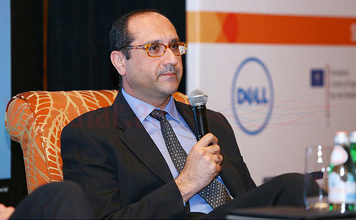 الدكتور اميت كومار يتحدث في مؤتمر HIMSS عن ابتكارات الصحة المتكاملة بالشرق الأوسط